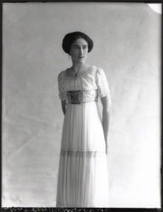 NPG x33162; Lady Dorothy Mills (nÈe Walpole) by Bassano
