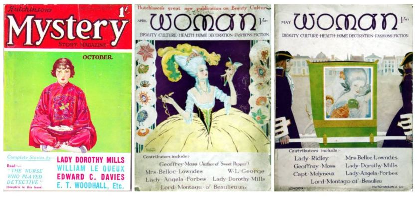 Lady Dorothy Mills periodicals
